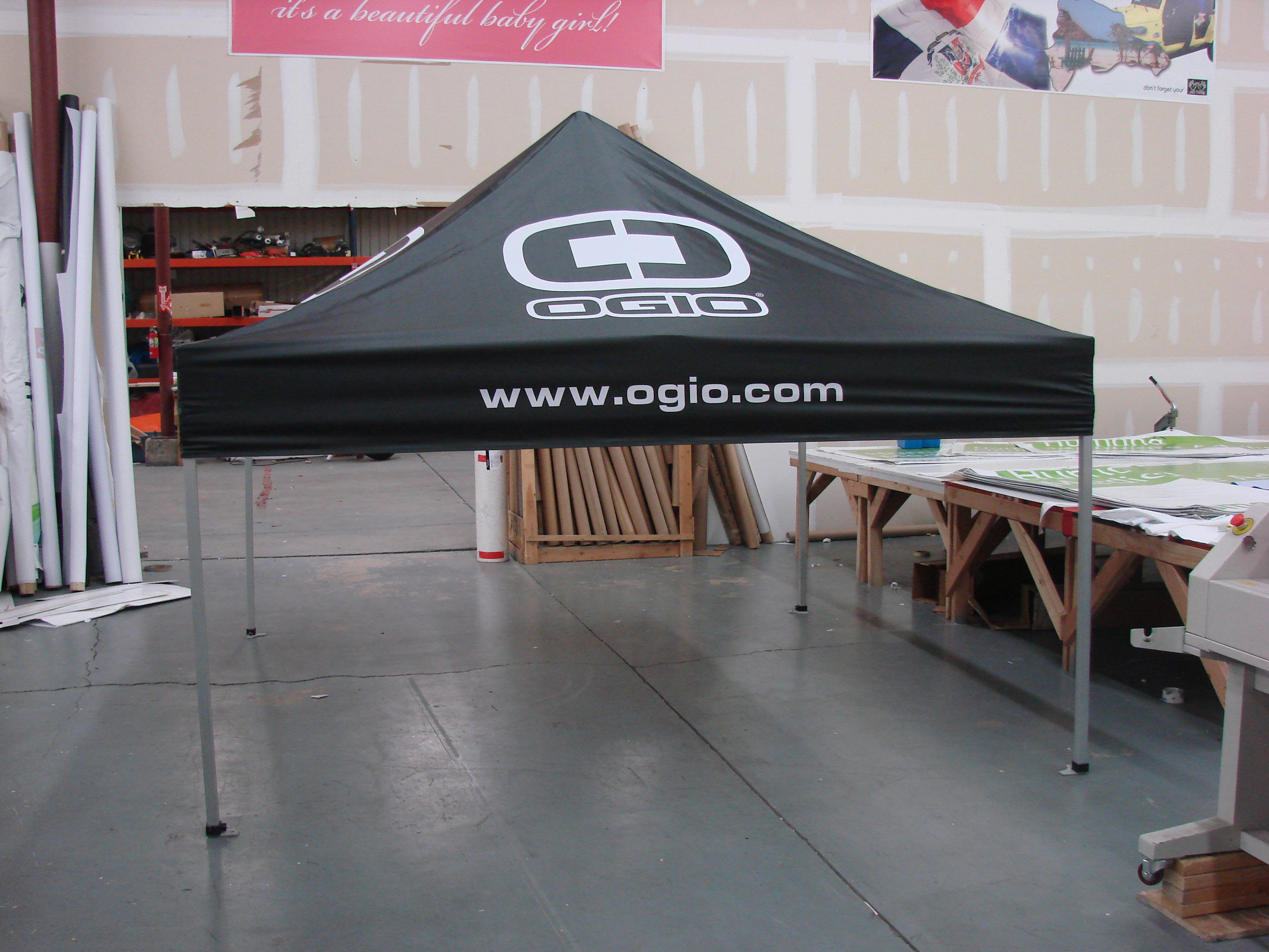 As usual the Visible Tents tea m ... & Custom Canopies - OGIO The Popular Lifestyle Company Turned to ...